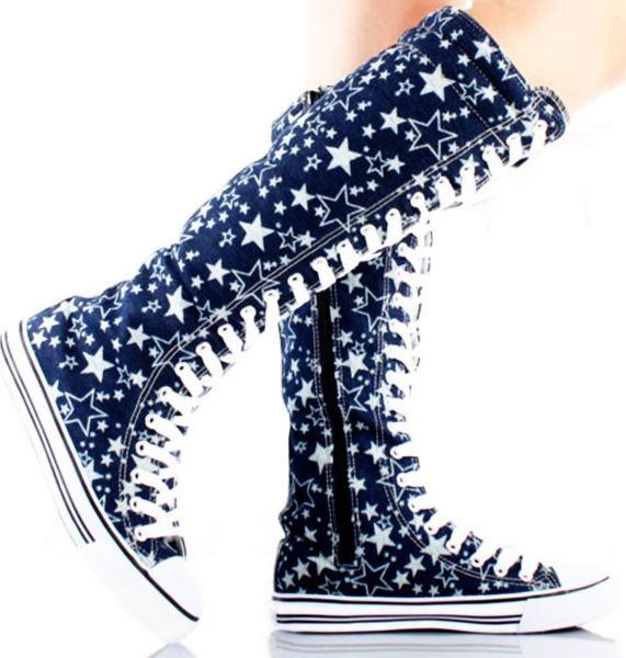 Converse Knee High Boots